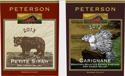 Full Case Special - 6 bottles each Carignane and Petite Sirah Image