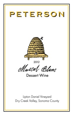 Muscat Blanc 2012, Dry Creek Valley, 375ml