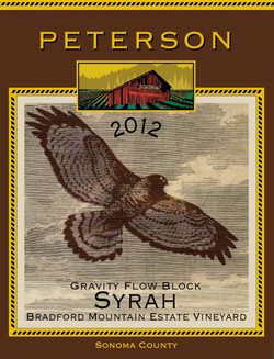 Syrah 2012, Bradford Mountain Estate Vineyard