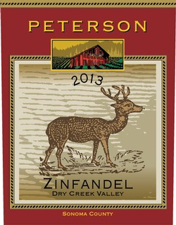 Zinfandel 2013, Dry Creek Valley