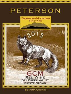 GCM Blend 2015, Bradford Mountain Estate Vineyard