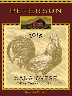 Sangiovese 2016, Dry Creek Valley