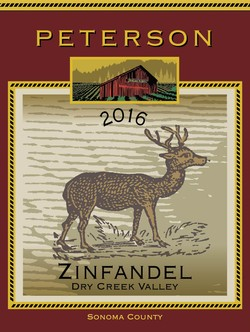 Zinfandel 2016, Dry Creek Valley