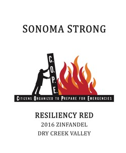 Zinfandel 2016, Resiliency Red