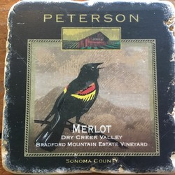 Peterson Coaster - Merlot