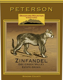 Zinfandel 2015, Bradford Mountain Estate Vineyard
