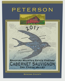 Cabernet Sauvignon 2011, Bradford Mountain Estate Vineyard