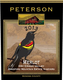 Merlot 2013, Bradford Mountain Estate Vineyard