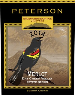 Merlot 2014, Bradford Mountain Estate Vineyard