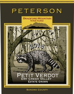 Petit Verdot 2014, Bradford Mountain Estate Vineyard