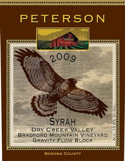 Syrah 2009, Bradford Mountain Estate Vineyard