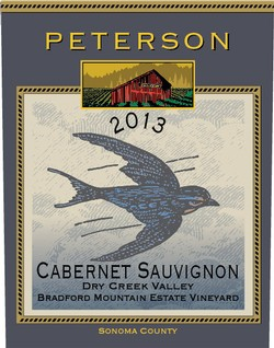 Cabernet Sauvignon 2013, Bradford Mountain Estate Vineyard Image