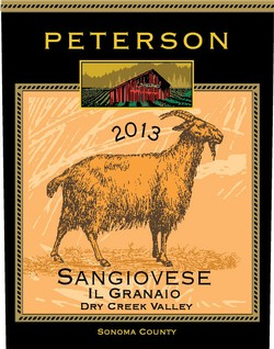 Sangiovese 2013, Il Granaio, Dry Creek Valley, 1.5L