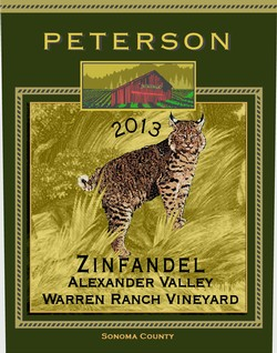 Zinfandel 2013, Warren Ranch Vineyard