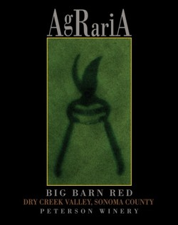 Agraria 2001, Big Barn Red, Bradford Mountain Estate Vineyard