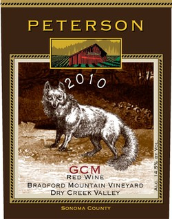 GCM 2010, Bradford Mountain Estate Vineyard, 1.5L