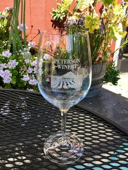 Peterson Wine Glass