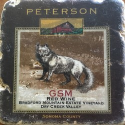 Peterson Coaster - GSM Red