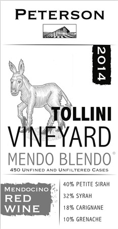 Mendo Blendo 2015, Tollini Vineyard, 3L Bag-n-Box Image