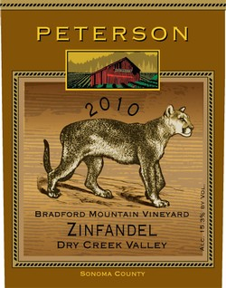 Zinfandel 2010, Bradford Mountain Estate Vineyard, 1.5L