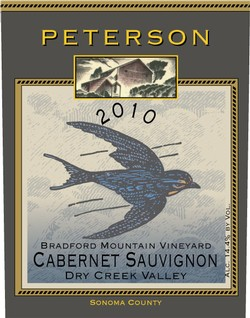 Cabernet Sauvignon 2010, Bradford Mountain Estate Vineyard, 1.5L