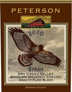 Syrah 2010, Bradford Mountain Estate Vineyard