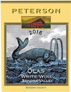 Olas White Blend, 2016, Sonoma Valley Image