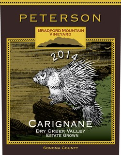 Carignane 2014, Bradford Mountain Estate Vineyard