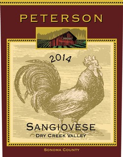Sangiovese 2014, Dry Creek Valley