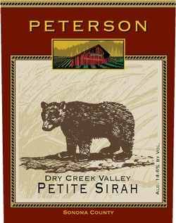 Petite Sirah 2001, Dry Creek Valley