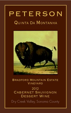 Cab Sauv 2012, QDM Dessert Wine 375ml Bradford Mountain Estate Vineyard