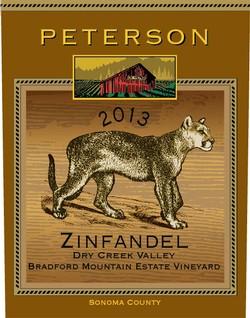 Zinfandel 2013, Bradford Mountain Estate Vineyard